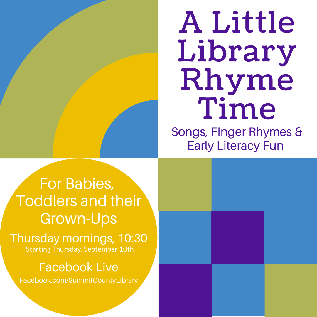 A Little Library Rhyme Time