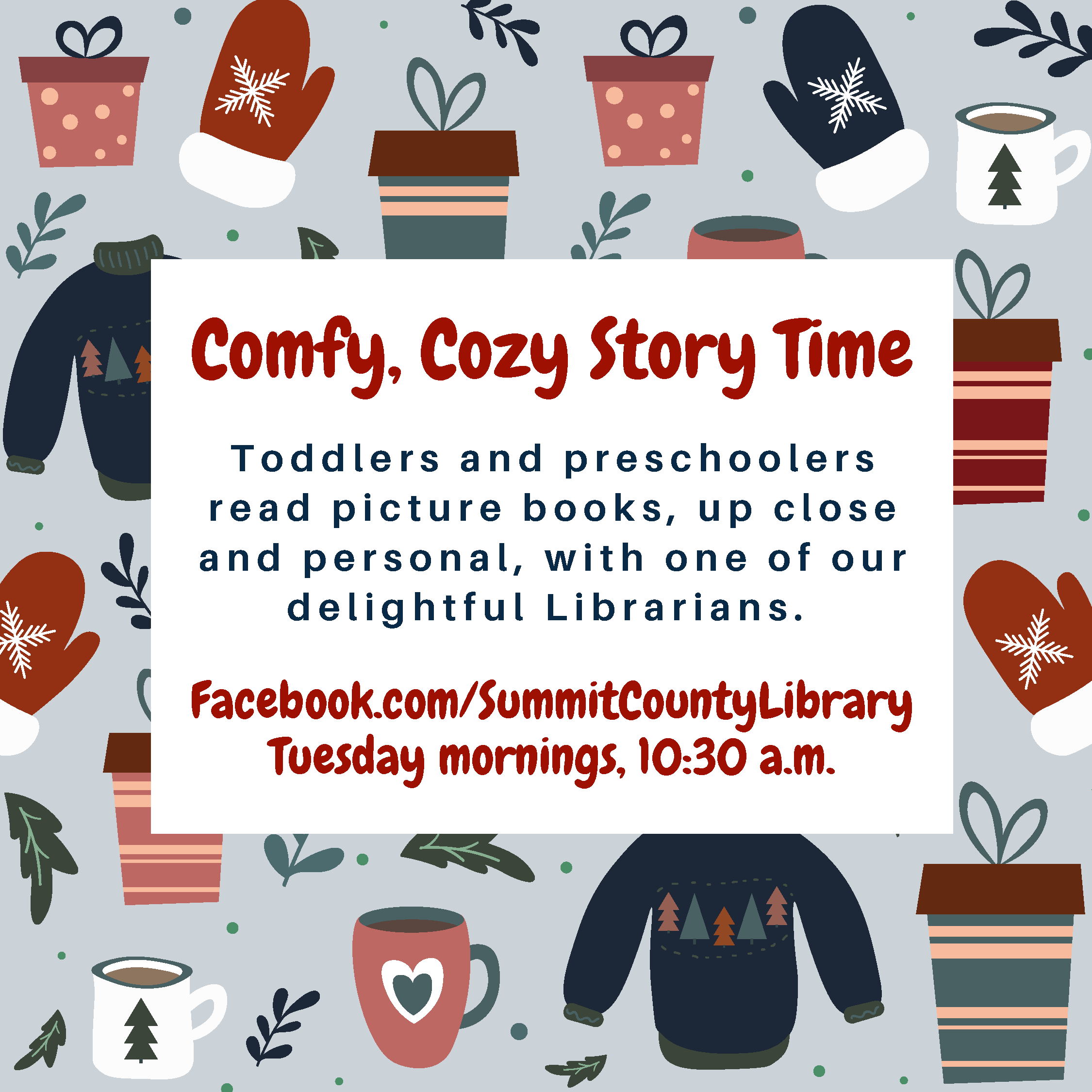 Comfy Cozy Story Time Winter