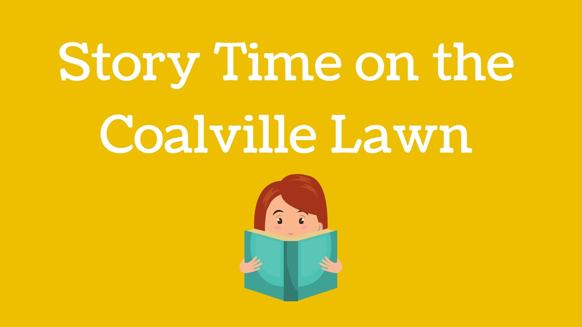 Storytime on the Coalville Lawn