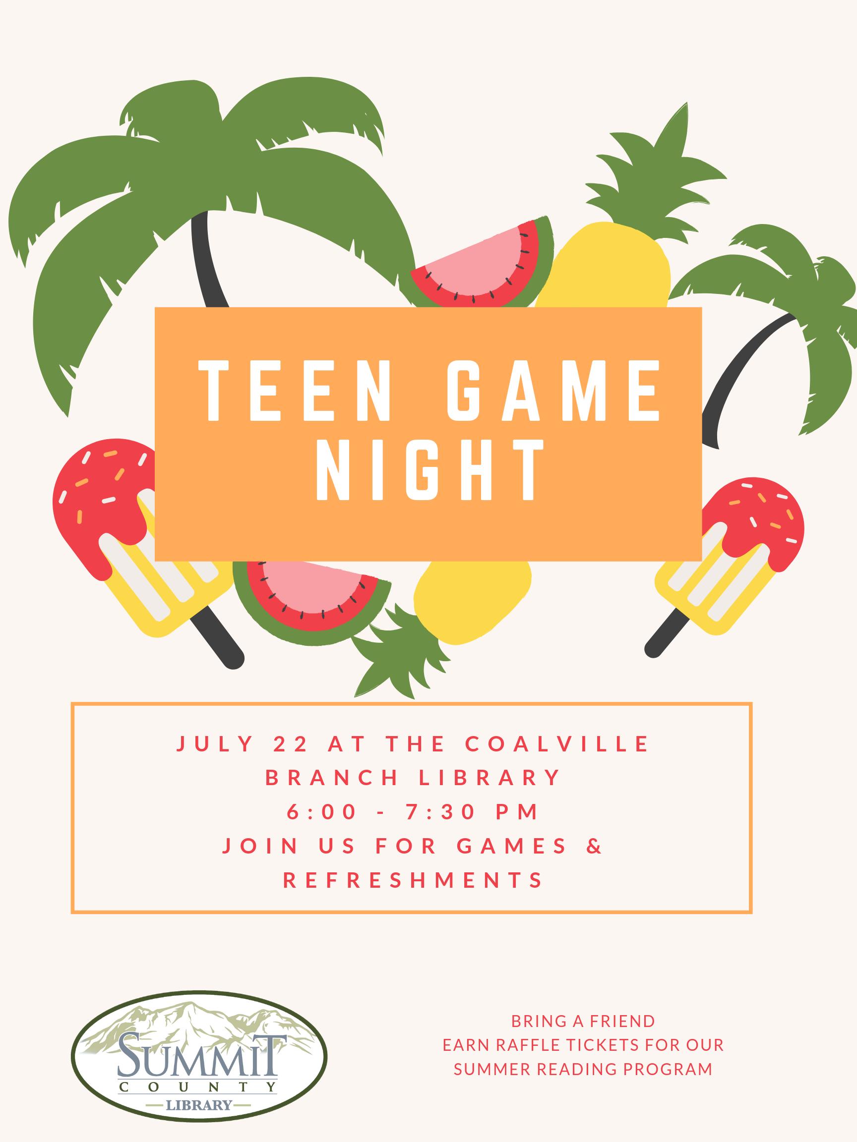 Teen Summer Party