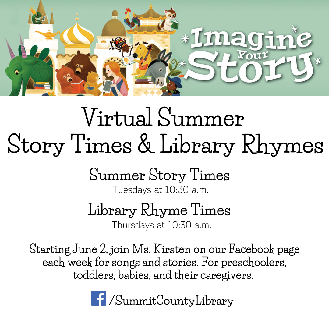 Virtual Story Times